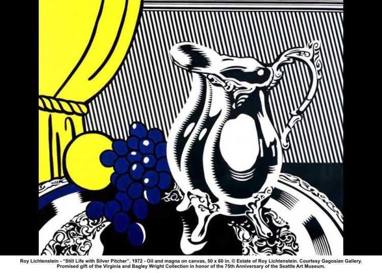 Roy-Lichtenstein-Still-Life-Silver-Pitcher