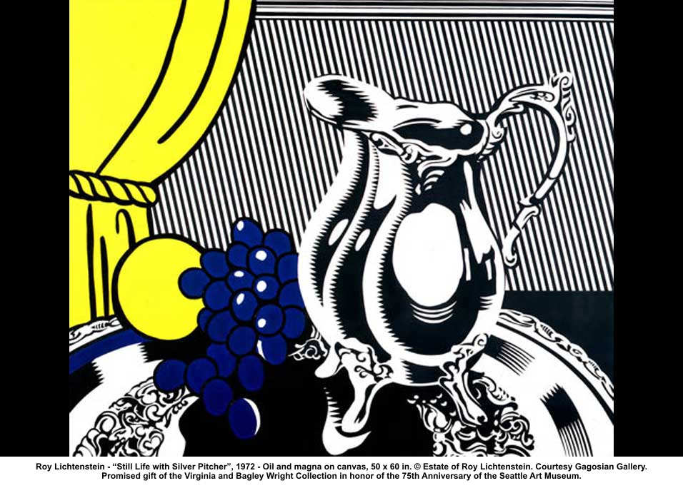 Roy-Lichtenstein-Still-Life-Silver-Pitcher